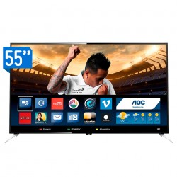 TV Smart AOC LED UHD 55''...